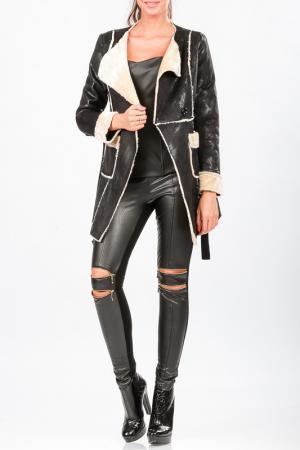 Пальто Carla Giannini. Цвет: черный