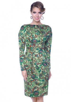 Платье Olivegrey DIANA. Цвет: зеленый