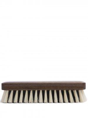 Двухцветная щетка для обуви Lorenzi Milano. Цвет: коричневый