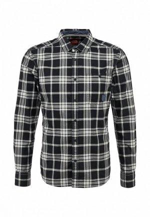 Рубашка EDC by Esprit. Цвет: серый