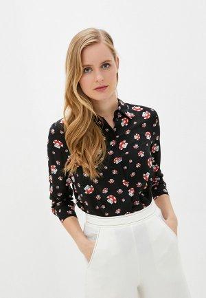 Блуза Alice + Olivia. Цвет: черный