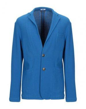 Пиджак BARK. Цвет: ярко-синий