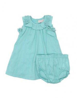 Платье LILI GAUFRETTE. Цвет: светло-зеленый