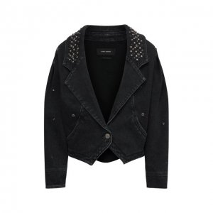 Джинсовая куртка Isabel Marant. Цвет: чёрный