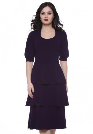 Платье Grey Cat FRANKY. Цвет: фиолетовый