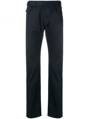 Классические брюки узкого кроя Emporio Armani