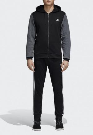 Костюм спортивный adidas CO ENERGIZE TS. Цвет: черный