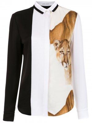 Lion shirt Gloria Coelho. Цвет: черный