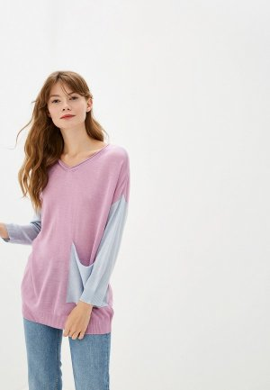 Пуловер Maria Velada. Цвет: розовый