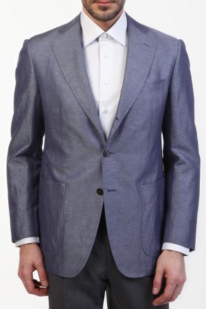 Пиджак Zilli. Цвет: фиолетовый