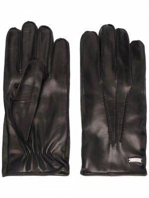 Перчатки Guanti Corneliani. Цвет: черный