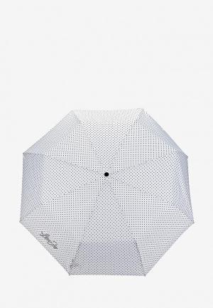 Зонт складной Liu Jo. Цвет: белый
