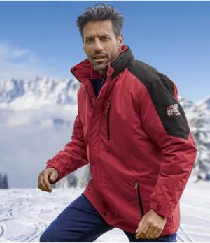 Парка для Лыжного Спорта Atlas For Men. Цвет: красный