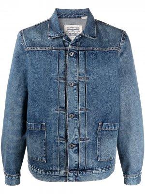 Levis: Made & Crafted джинсовая куртка Worn Trucker Levi's:. Цвет: синий