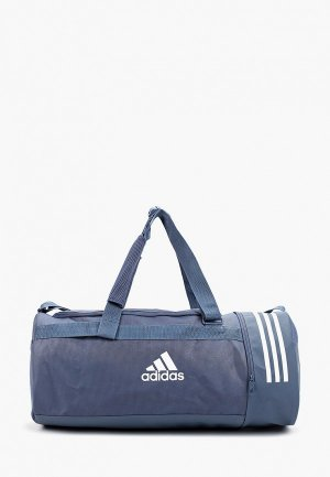 Сумка спортивная adidas CVRT 3S DUF M. Цвет: синий