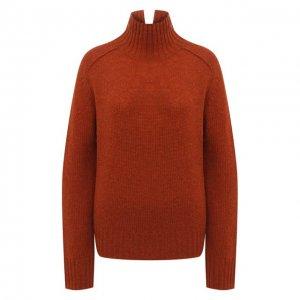 Шерстяной свитер Acne Studios. Цвет: коричневый