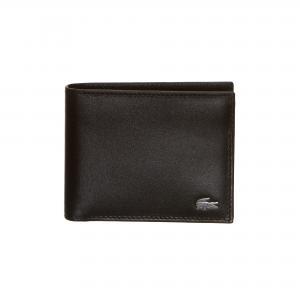 Кошелек SLG Man Premium Lacoste. Цвет: черный