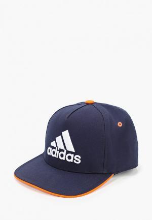 Бейсболка adidas KIDS CAP. Цвет: синий