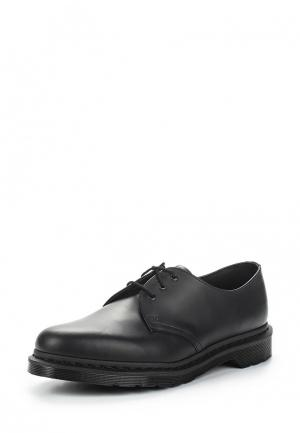 Туфли Dr. Martens 3 Eye Shoe. Цвет: черный