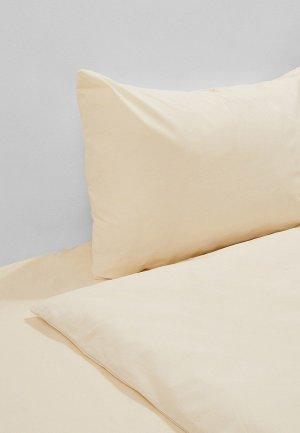 Постельное белье 2-спальное Эго. Цвет: бежевый