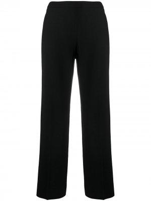 Прямые брюки строгого кроя Chanel Pre-Owned. Цвет: черный