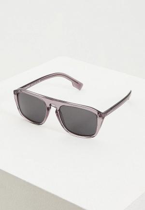 Очки солнцезащитные Burberry BE4286 380187. Цвет: серый