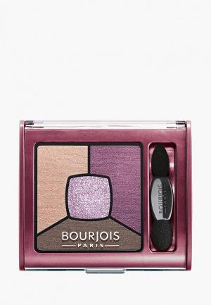Тени для век Bourjois Smoky Stories Eye Shadow, 15 Brilliante Prunette, 3,2 гр. Цвет: разноцветный