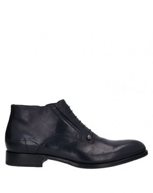 Полусапоги и высокие ботинки ERNESTO DOLANI. Цвет: темно-синий