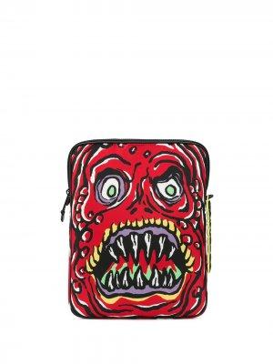 Чехол для ноутбука Monster Moschino. Цвет: красный