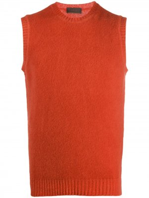 Фактурный жилет Altea. Цвет: оранжевый