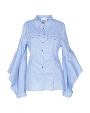Pубашка ANNARITA N TWENTY 4H. Цвет: небесно-голубой