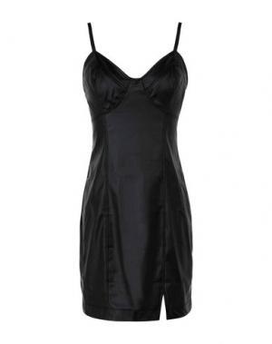 Короткое платье FREE PEOPLE. Цвет: черный
