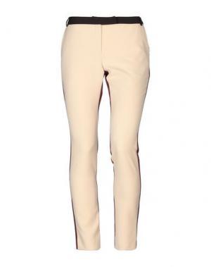 Повседневные брюки FRACOMINA. Цвет: телесный