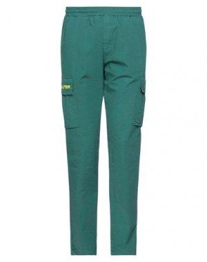 Повседневные брюки IUTER. Цвет: зеленый