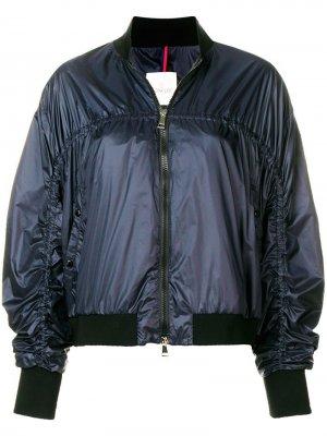 Куртка-бомбер с удлиненными рукавами Moncler