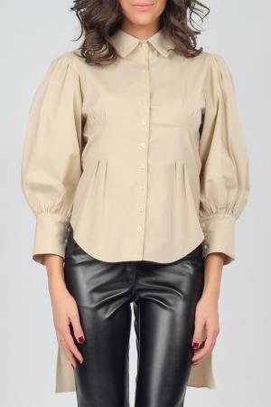 Рубашка Isabel Queen. Цвет: бежевый