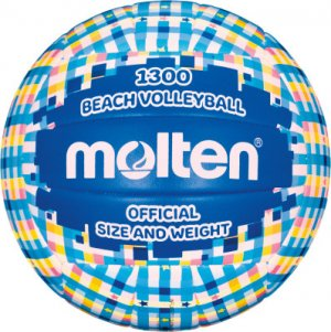 Мяч для пляжного волейбола Molten. Цвет: синий