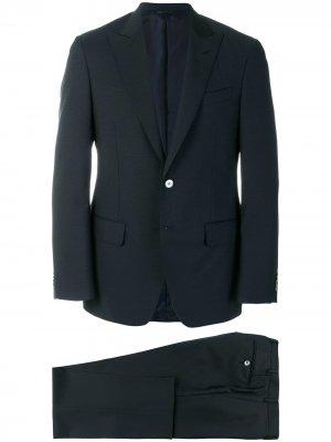 Delloglio деловой костюм прямоо кроя Dell'oglio. Цвет: синий