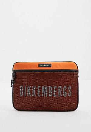 Чехол для ноутбука Bikkembergs. Цвет: оранжевый