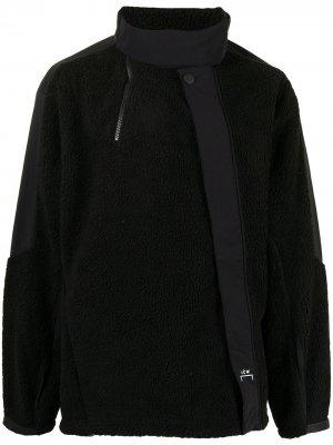 Panelled fleece jacket A-COLD-WALL*. Цвет: черный