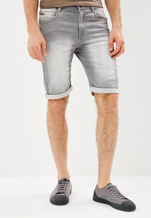 Шорты джинсовые Backlight. Цвет: серый