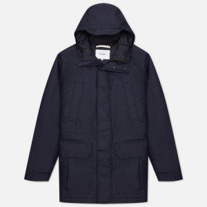 Мужская куртка парка Stavanger EcoNyl Norse Projects. Цвет: синий