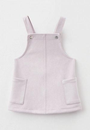 Сарафан Gloria Jeans. Цвет: фиолетовый