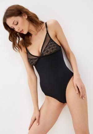 Боди Stella McCartney Underwear AMBER IMAGINING. Цвет: черный