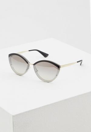 Очки солнцезащитные Prada PR 07US U435O0. Цвет: золотой