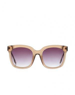 Солнечные очки KOMONO. Цвет: песочный