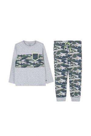 Пижама Coccodrillo. Цвет: серый