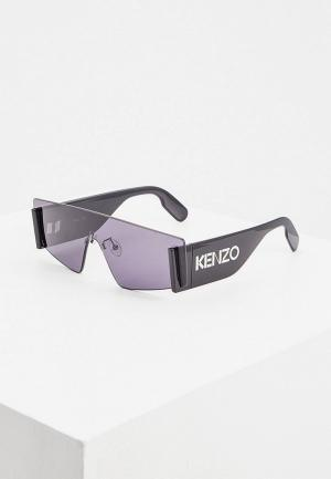 Очки солнцезащитные Kenzo KZ 40103U. Цвет: черный