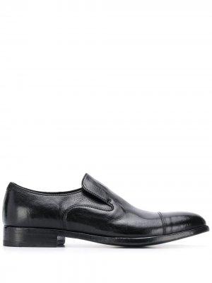 Туфли-дерби Queen без застежки Alberto Fasciani. Цвет: черный