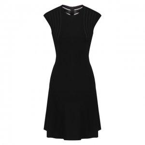Платье из вискозы Alaia. Цвет: чёрный